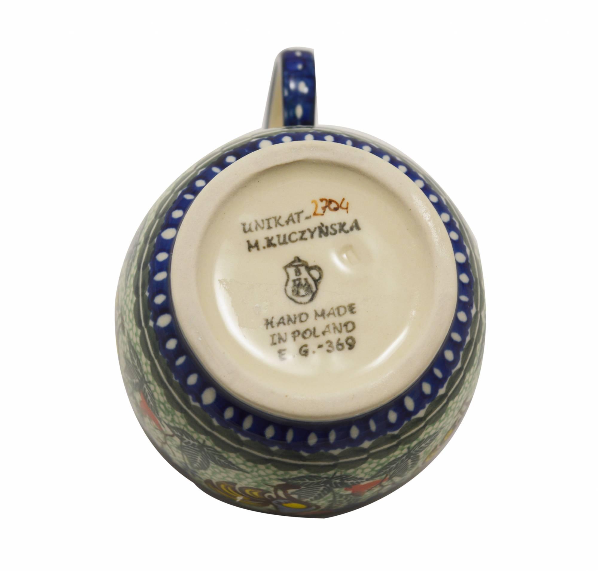 Soup Mug Old World Polish Pottery