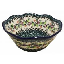 Wavy Edged Bowl