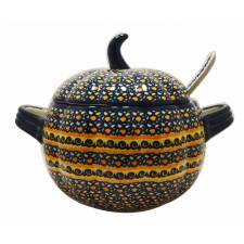 Pumpkin Tureen with Ladle