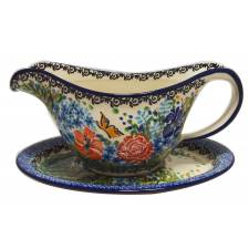 Gravy Boat with Plate