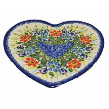 Heart-Shaped Plate