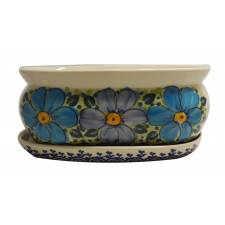 Herb/Flower Pot with Tray