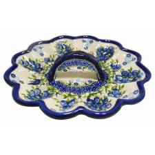 Egg Plate with Handle
