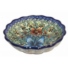 Scalloped Fluted Bowl