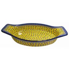 XL Oval Baker with Handles