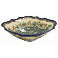 Diamond- Shaped Bowl