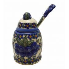 Jam Jar with Spoon
