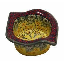 Scalloped Square Bowl